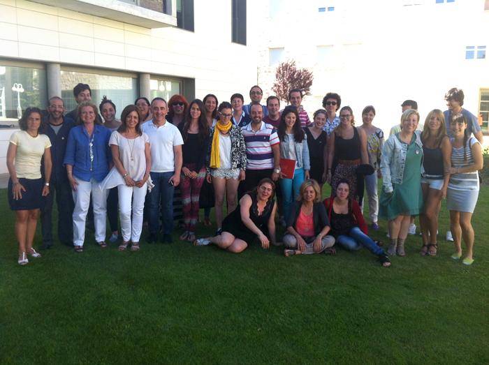 Alumnos asistentes al curso.